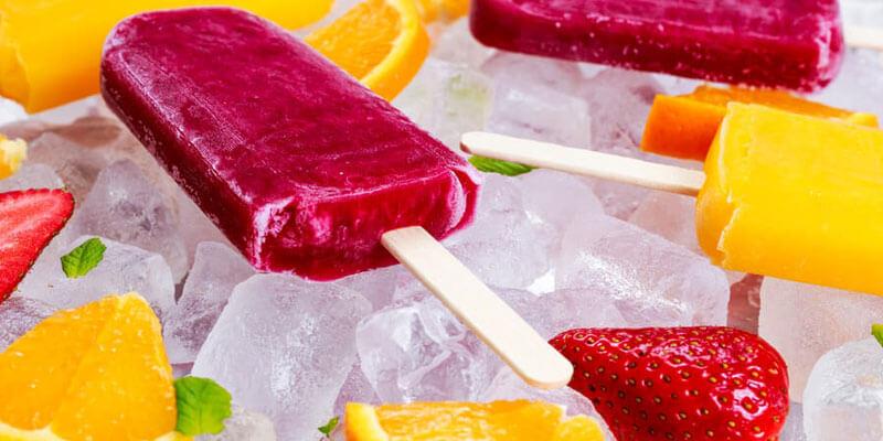 Fruitijsjes maken met het fruit in je huis: gezond en lekker