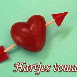 Maak je eigen eenvoudige fantasierijke tomaten hartjes