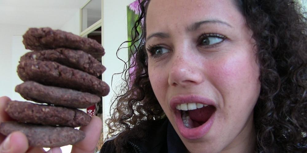 chocolade cakjes gebakken
