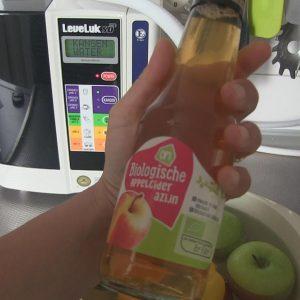 Pesticiden van groenten en fruit wassen