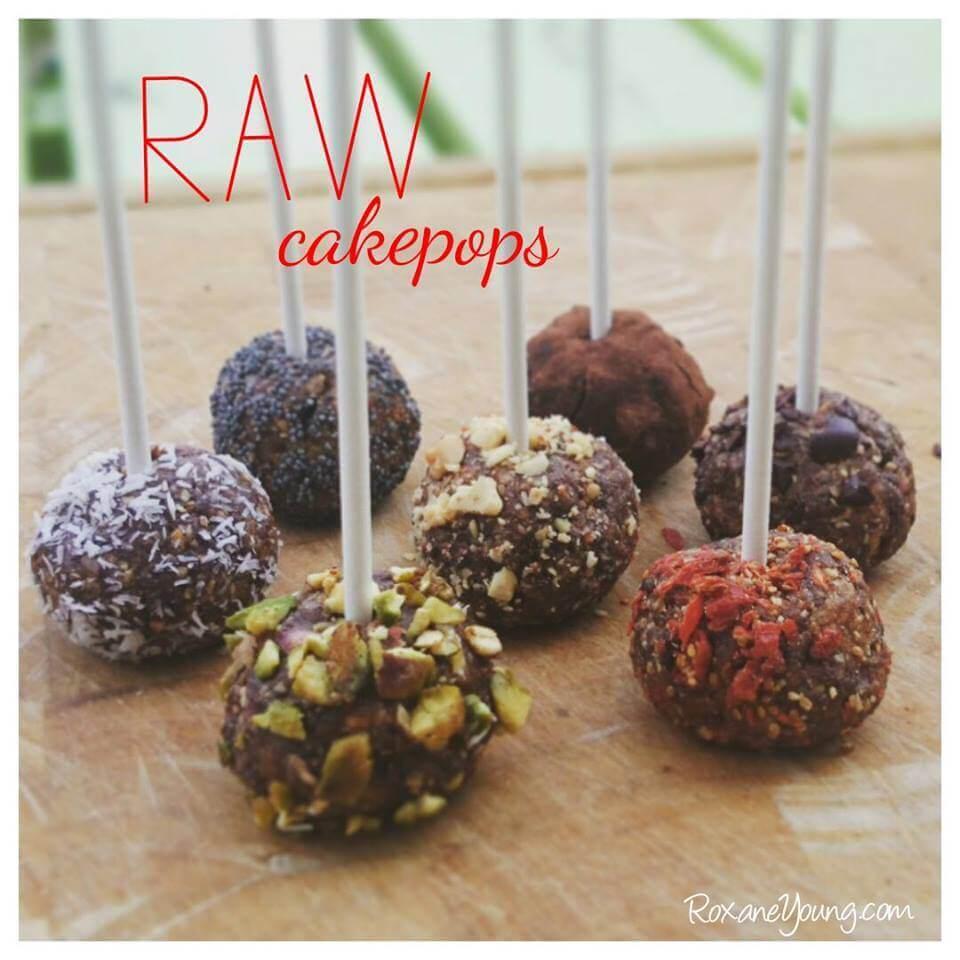 raw cakepops - gezonde snacks