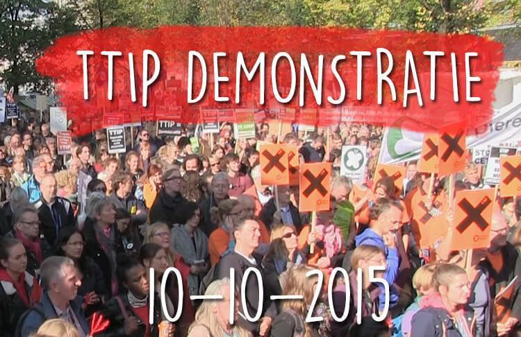 tipp demonstratie amsterdam 10 oktober 2015