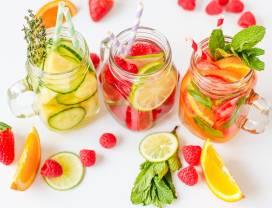 meer water drinken fruit