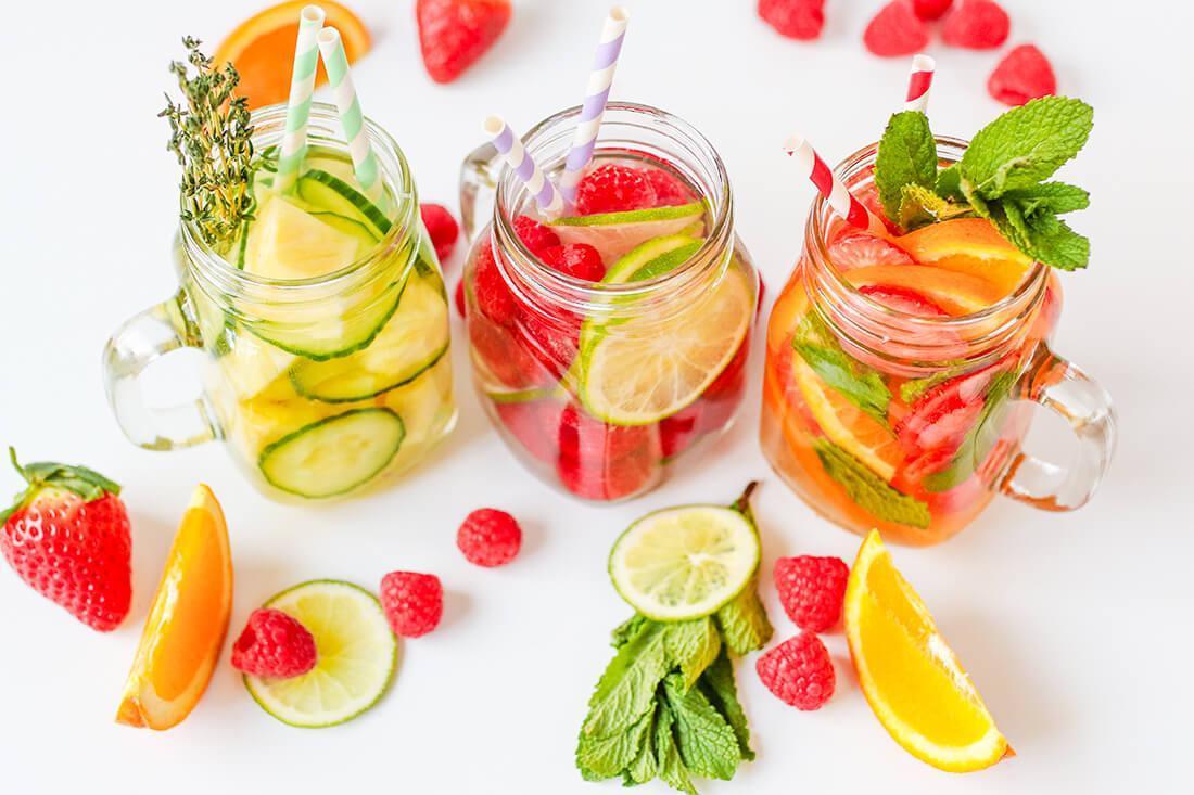 afvallen met water drinken