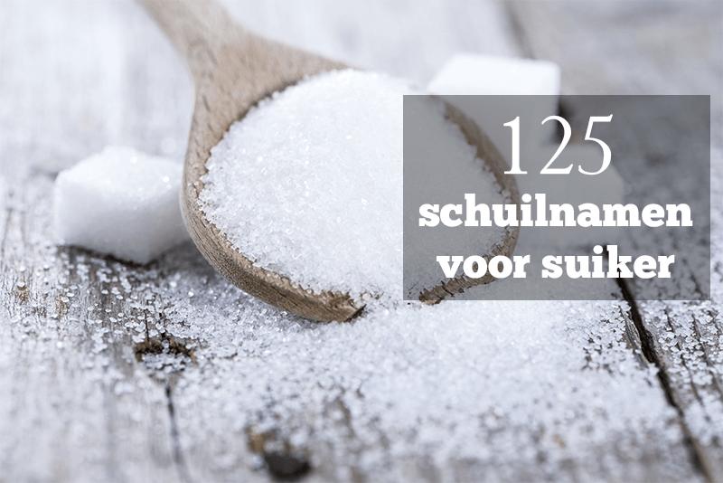 namen voor suiker