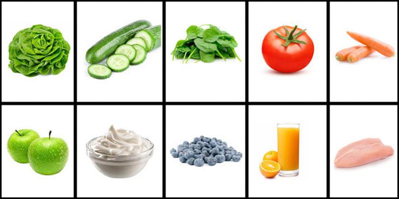 top 10 caloriearme voedingsmiddelen